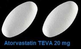 atorvastatin teva 20 mg