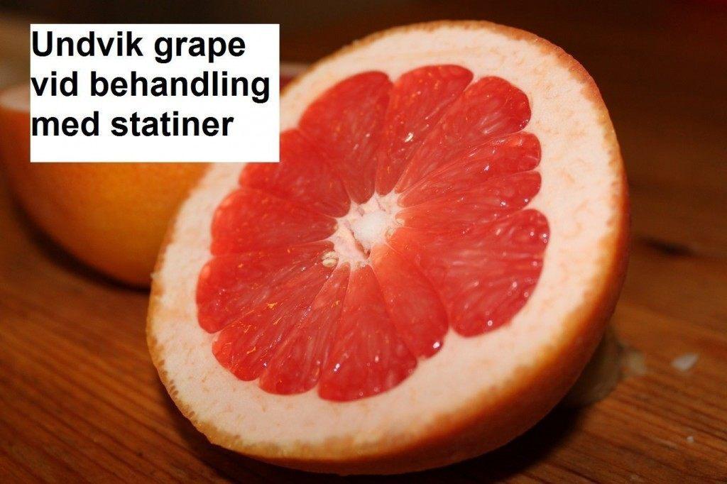 grapefrukt och atorvastatin