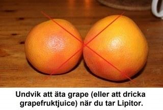 lipitor och grape
