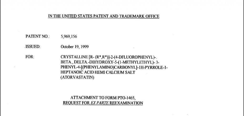 lipitor patent